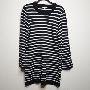 Madewell Button Sleeve Sweater Dress - XL - NWOT